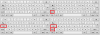 Раскладка русского языка для варианта «Пишущая машинка».