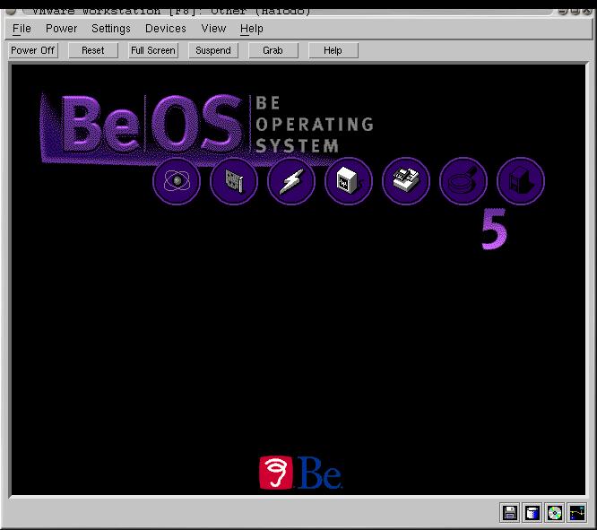 BeOS R5 in VMWare 3.0 [2]