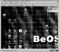BeOS R5 in VMWare 3.0 [6]