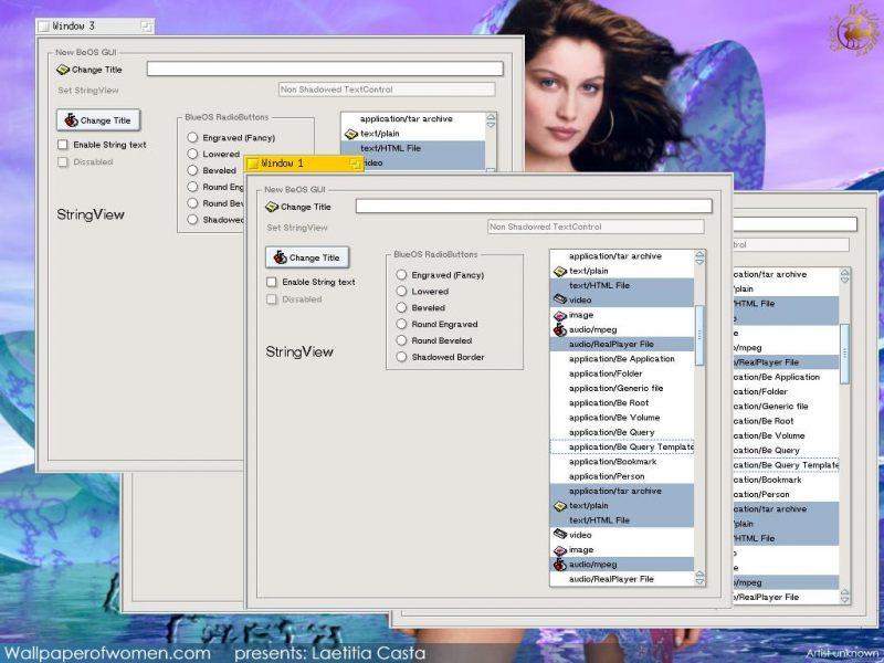 BlueEyedOS: пример работы UI - 2