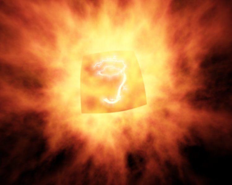 Exploding 3D Logo