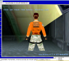 Лара Крофт в BeOS (SDL + MESA OpenGL)
